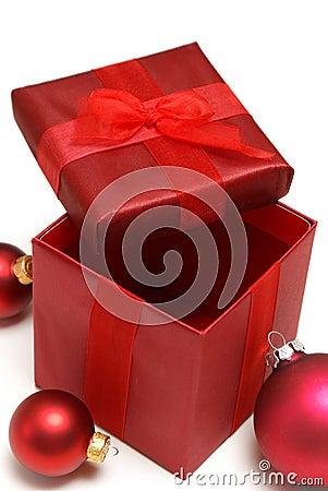 Contenitore di regalo della festa