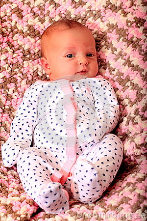 Free Contented Happy Newborn Royalty Free Stock Images - 52578169