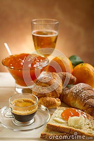 Free Continental Breakfast Royalty Free Stock Photos - 14694218
