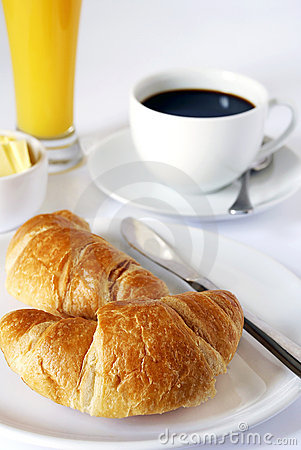 Free Continental Breakfast Stock Image - 2422721
