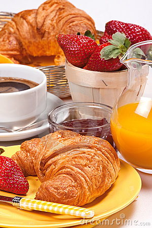 Free Continental Breakfast. Stock Image - 7983301