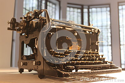 Máquina de escribir Imagen editorial