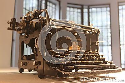 Máquina de escrever Imagem Editorial