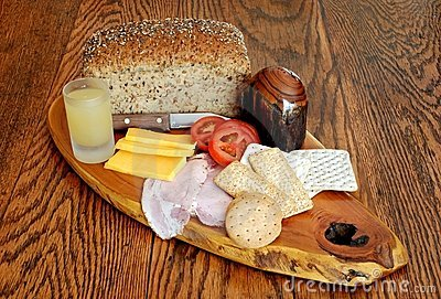 Continental Style Breakfast Platter