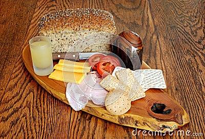 Continental Style Breakfast Platter
