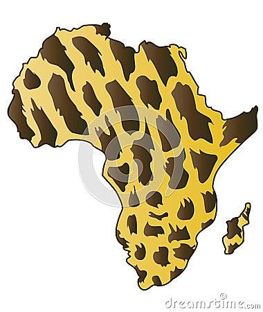 Continente africano.