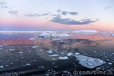 Continente antárctico - mar de Weddell