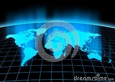 Continents 3d