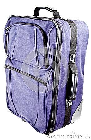 Continui il sacchetto della valigia dei bagagli di corsa