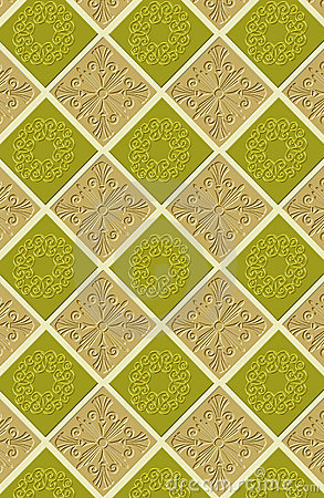Continuous wallpaper tiles