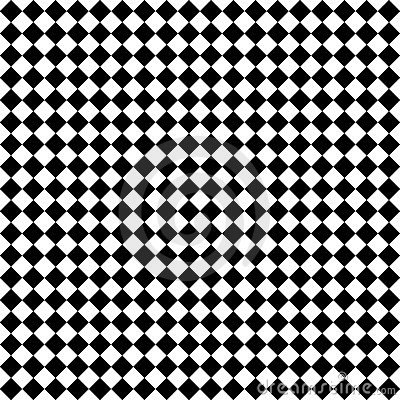 Contrôles noirs et blancs de diamant
