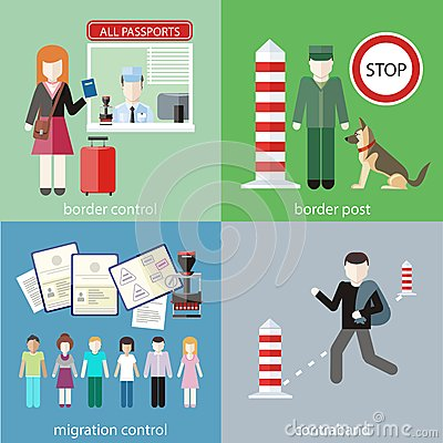 Free Contraband, Border Control, Post And Migration Stock Image - 51683771