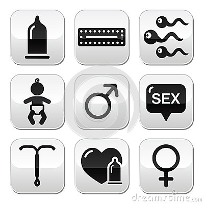 Contraception methods, sex  buttons sex