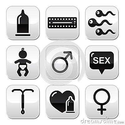 Contraception methods, sex  buttons sex