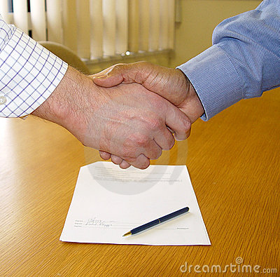 Free Contract Signed Royalty Free Stock Image - 68396