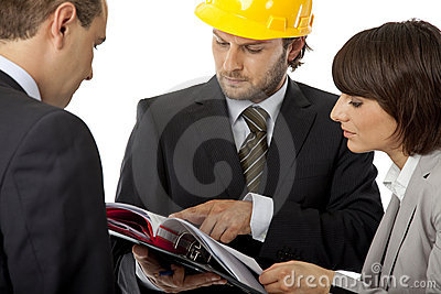Contractor and investor meeting
