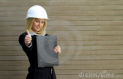 Contractor woman