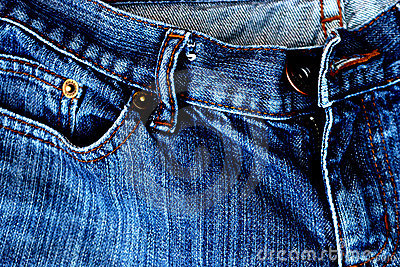 Contrasted jeans