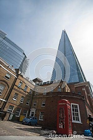 Contrasting architecture.