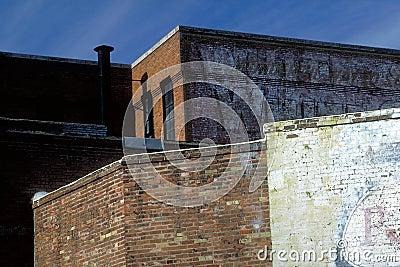 Contrasting Brick Walls