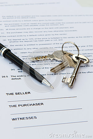 Contrat d immobiliers