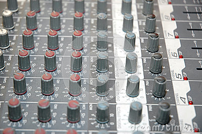 Control board sound mixer