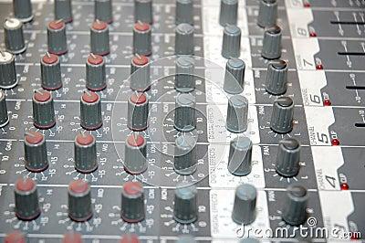 Control board sound mixer