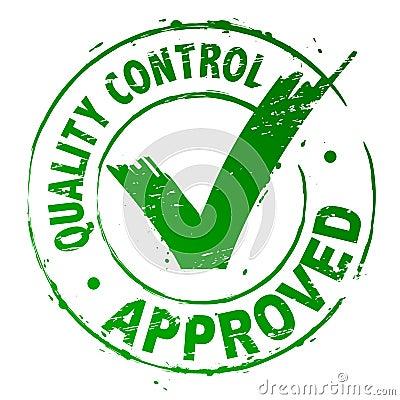Control de calidad aprobado