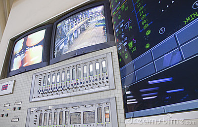 Control room - power plant