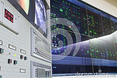 Control room - power plant