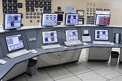 Control Room Power Plant Stock Photos Image 3561043