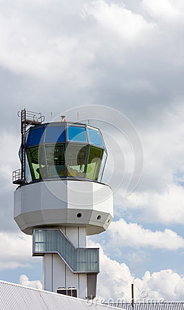 Control tower of regional airport