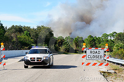 Controlled Burn Security Editorial Image