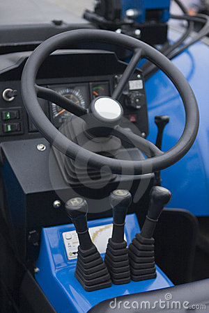 Controls of heavy machinery