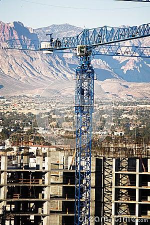 Contruction Crane Editorial Stock Photo