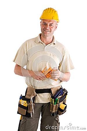 Contruction worker or hadyman