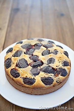 Contry plum cake
