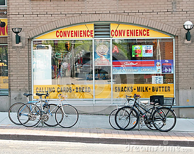 Convenience Store Editorial Stock Photo