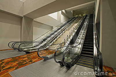 Convention Center Stairs and Escalators 2