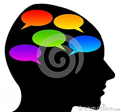 Conversation Stock Photo
