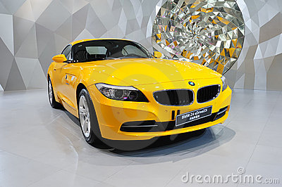 Convertible BMW Z4 car Editorial Stock Image