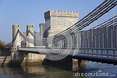 Conwy Castle Bridge - Conwy - Wales