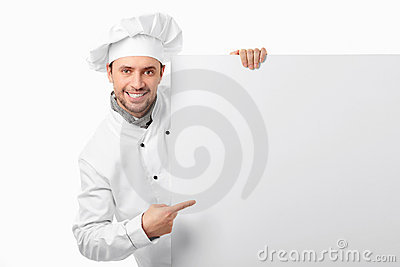 Cook with blank board