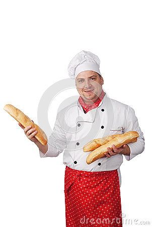 Cook with bread
