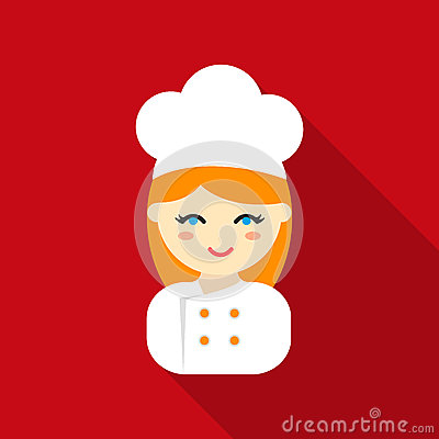 Free Cook Flat Icon. Illustration For Web And Mobile Design. Stock Image - 90900271