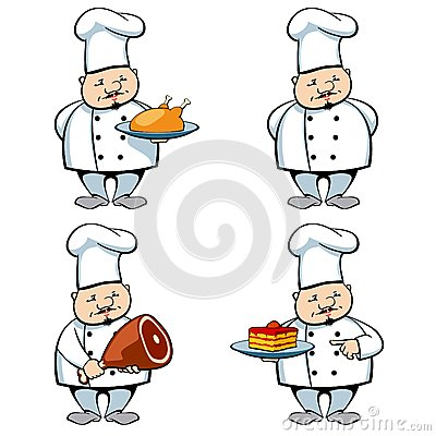 Cook and food