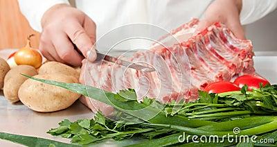 Cook hands