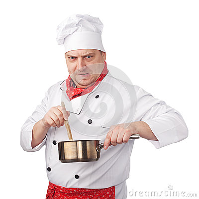 Cook with pan