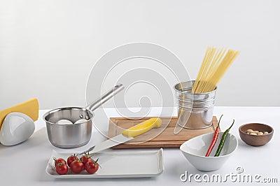 Cook preparation set