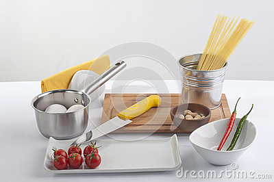 Cook preparation set